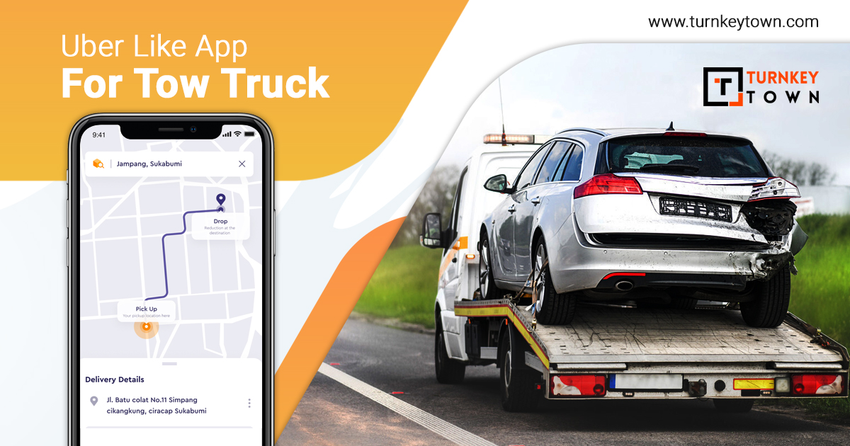 uber for tow truck app