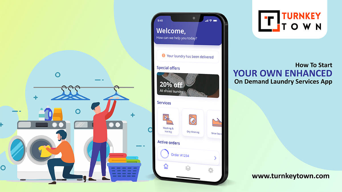 On Demand Laundry Services App
