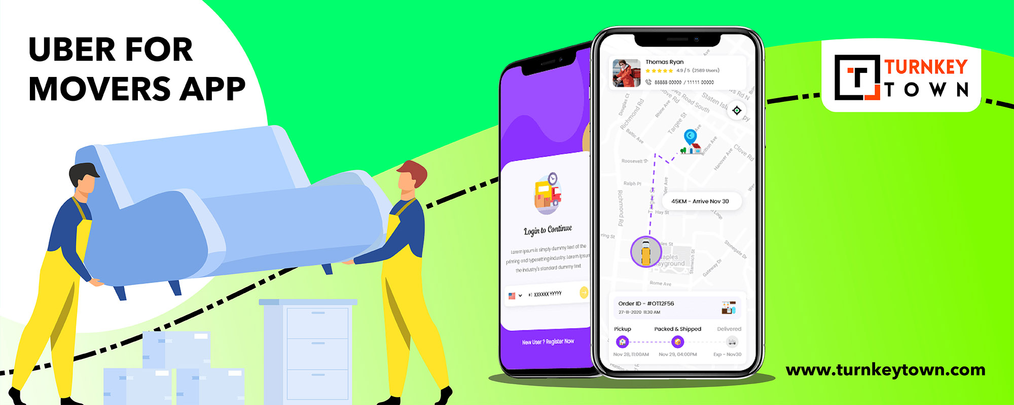 uber for movers app