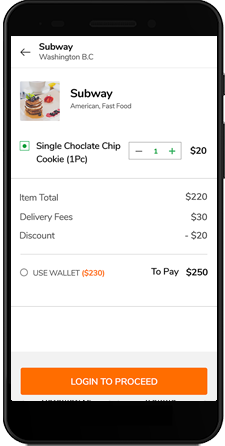 UberEats Clone | Customizable and scalable Food Delivery App
